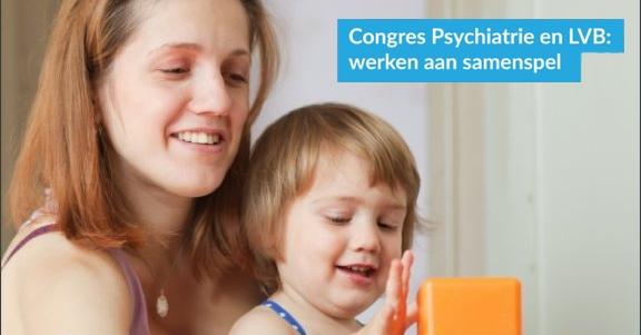 Poster Congres Psychiatrie en LVB: werken aan samenspel (uitsnede)