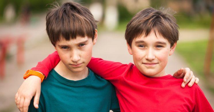 Twee Oost-Europese broers