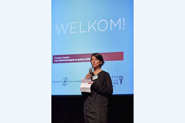 Ilse Tamrouti opent Van wijk tot wetenschap 2017