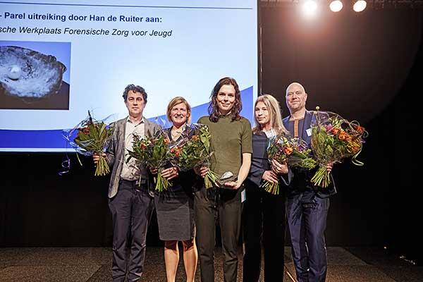 Winnaars van de Parel op Van wijk tot wetenschap 2017