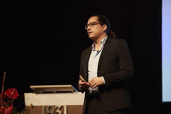 Jochen Mirau, keynote op Van wijk tot wetenschap 2017