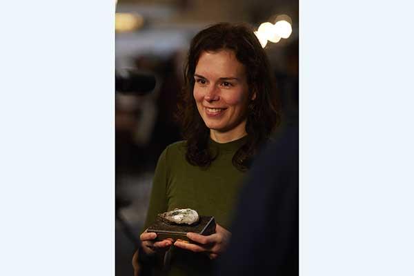 De winnaar van de Parel op Van wijk tot wetenschap 2017
