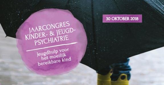 Poster Jaarcongres Kinder- en Jeugdpsychiatrie 2018 (uitsnede)