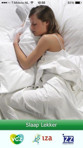 behandelmethode VGZ Slaap lekker