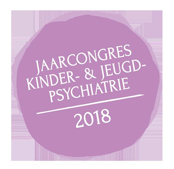 Jaarcongres 2018 Kenniscentrum Kinder En Jeugdpsychiatrie Kjp Paars Rond Logo