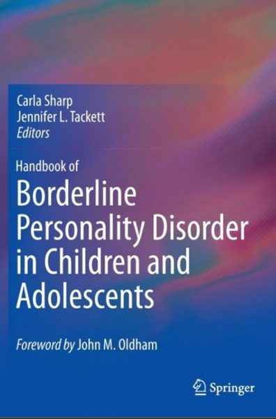 Handbook Of Borderline Personality Disorder In Children And Adolescents 2014