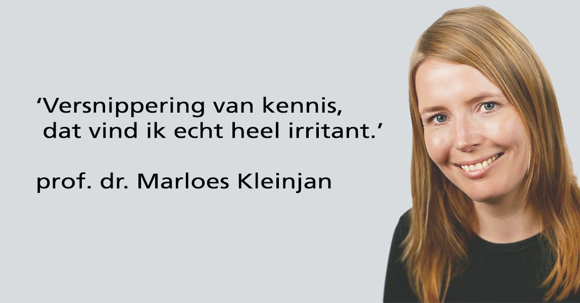 Prof Dr Marloes Kleinjan - Wetenschappelijke Raad Kinder Jeugdpsychiatrie