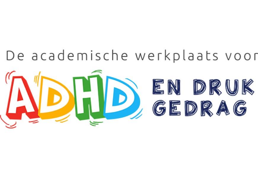 Logo Academische werkplaats ADHD en druk gedrag