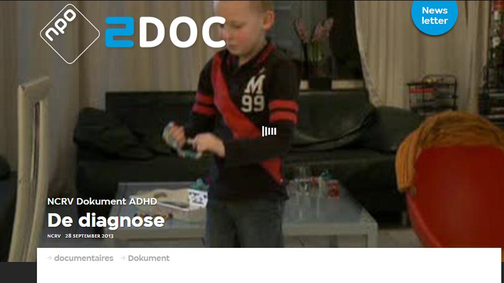 Bekijk NCRV Dokument: De diagnose, ADHD