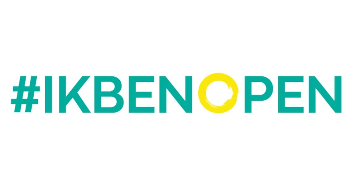 Het Logo van #IkBenOpen