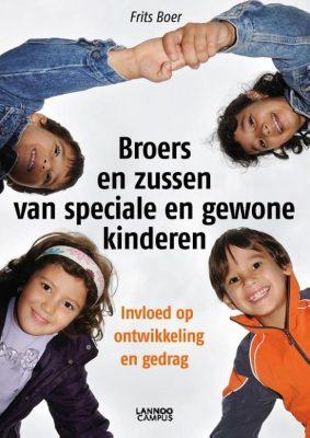 Boekomslag Broers en zussen van speciale en gewone kinderen