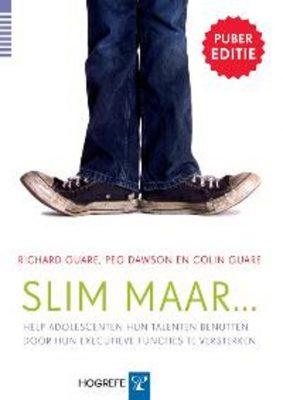 Boekomslag Slim Maar Pubereditie