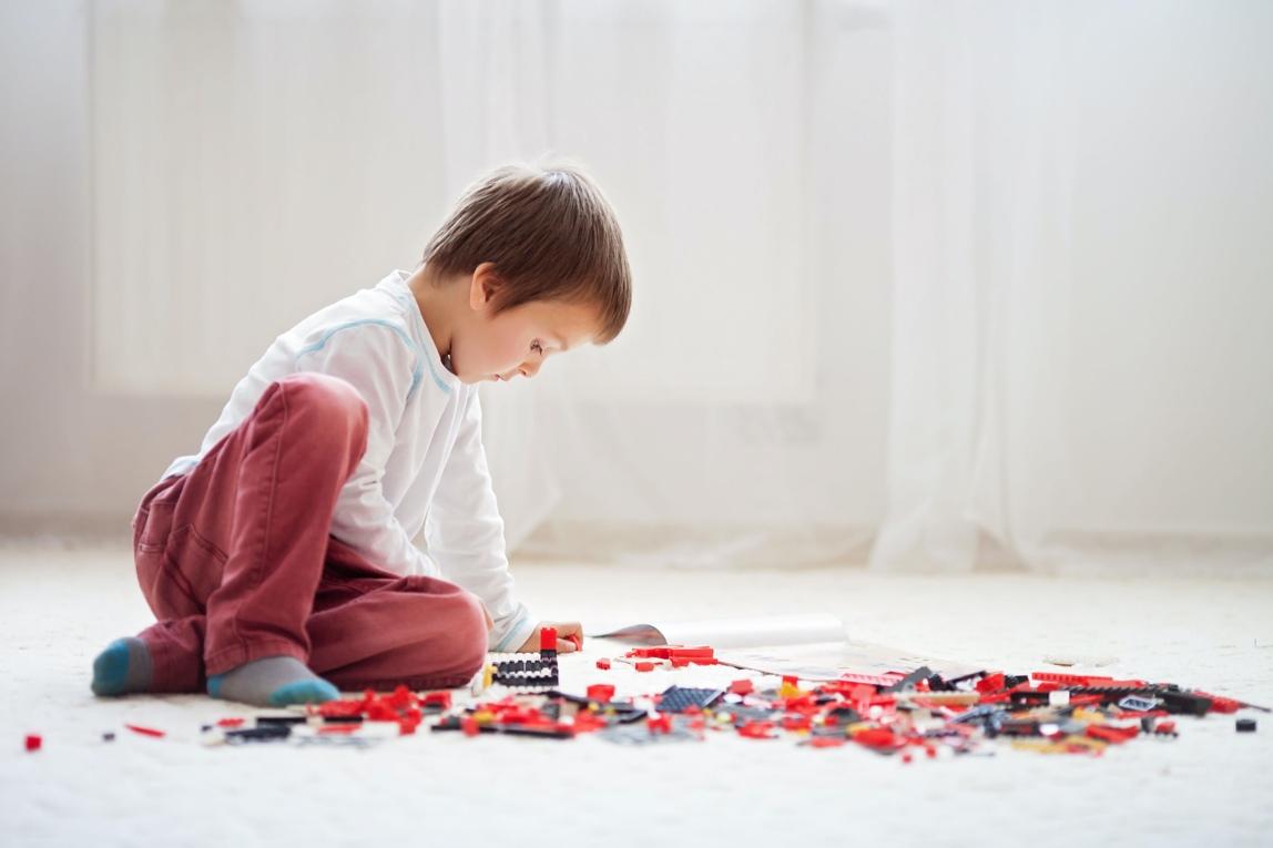 Jongen Lego