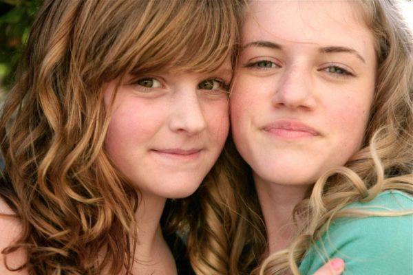 Meisjes vriendinnen