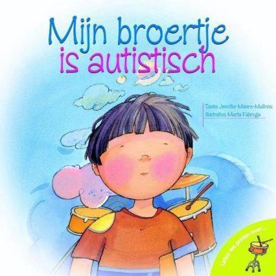 Boekomslag Mijn Broertje Is Autistisch