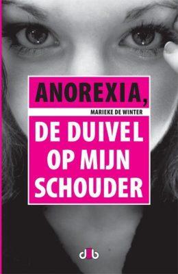 Boekomslag Anorexia De Duivel Op Mijn Schouder