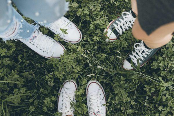 Drie paar sneakers